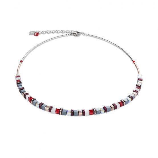 Halskette Swarovski® Kristalle Edelstahl