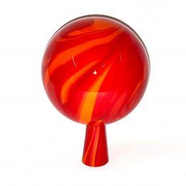 Gartenkugeln rot-orange 2