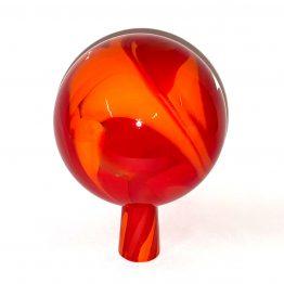 Gartenkugeln rot-orange