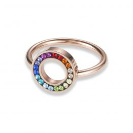 Coeur de Lion ring bunt