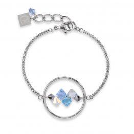 Coeur de Lion Armband blau, kristall