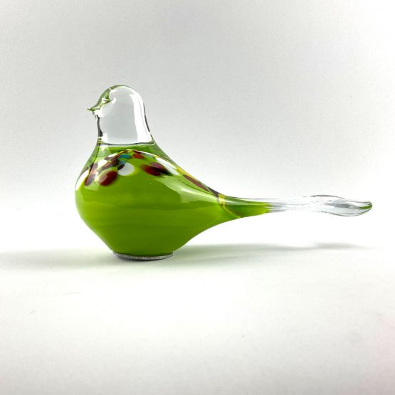 Beet-Gartenstecker Vogel hellgrün