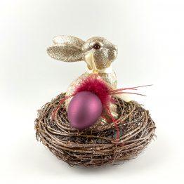 Hase, Ei und Kranz - Set 1