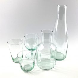Serie Mia - mundgeblasenes, spülmaschinenfestes Glas aus Recycling-Glas