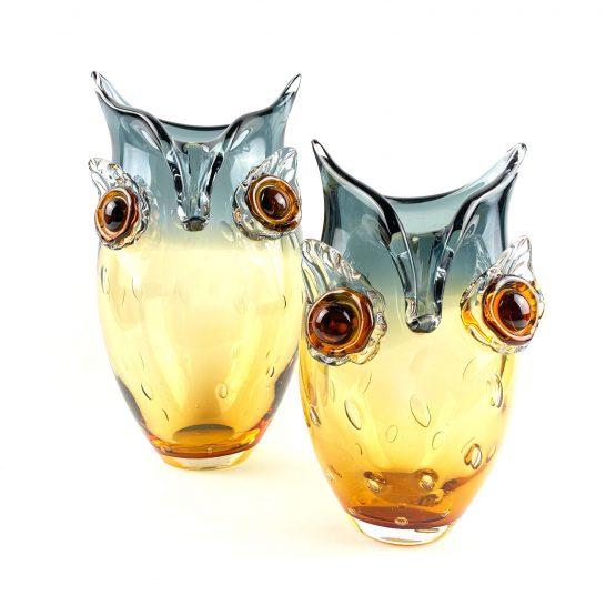 Eulen Vasen klein und groß