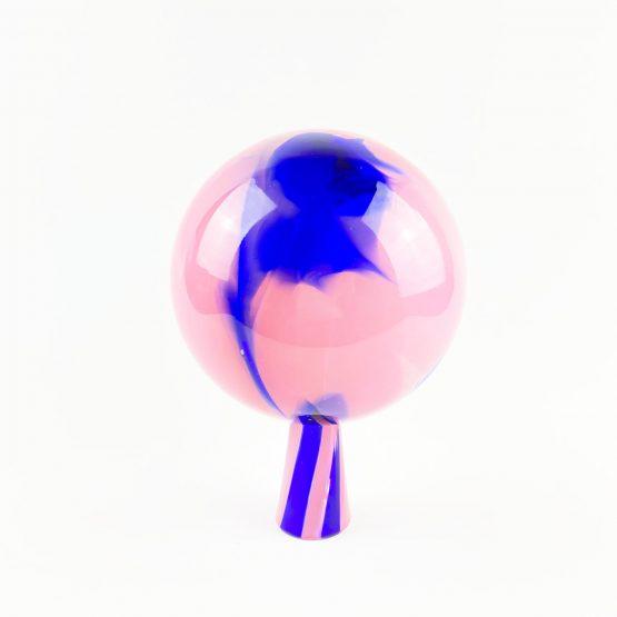 Gartenkugel rosa blau