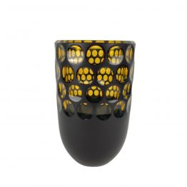 Vase geschliffen Kugelschliff
