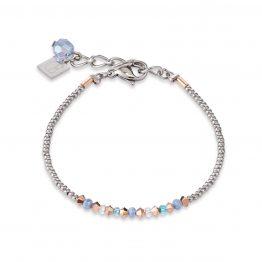 Armband hellblau kristall