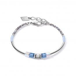 Armband Front blau