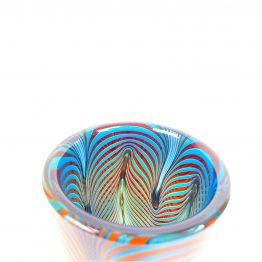 Breite Vase schräg