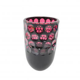 Vase Front Kugelschliff goldrubin
